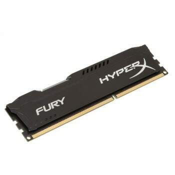 Memória Kingston HyperX Fury 8GB 1866MHZ DDR3 Black