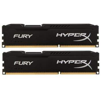 Memória Kingston HyperX Fury 8GB 1866MHz DDR3 Black (2x4GB)