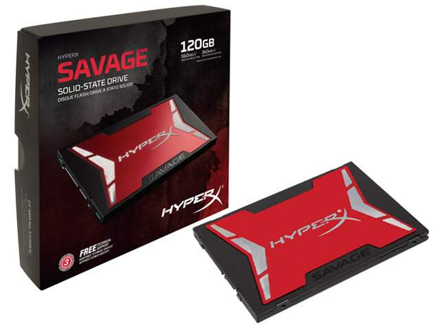 SSD Kingston HyperX Savage 120GB SATA III
