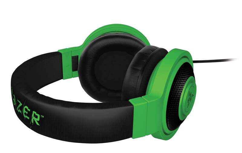 Fone Razer Kraken Neon Mobile Green - PS4/PC