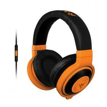 Fone Razer Kraken Neon Mobile Orange - PS4/PC