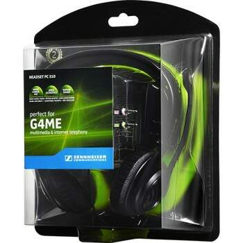 Fone Sennheiser PC 310 - PC, Mac, PS4, Xbox One