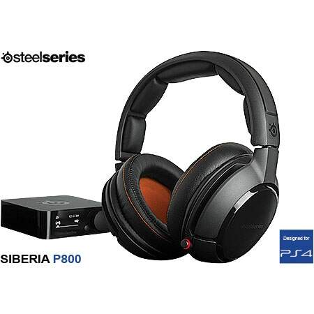 Fone Steelseries Siberia P800 PS4 - Wireless/Dolby 7.1
