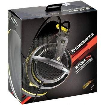 Fone Steelseries Siberia 200 - Alchemy Gold