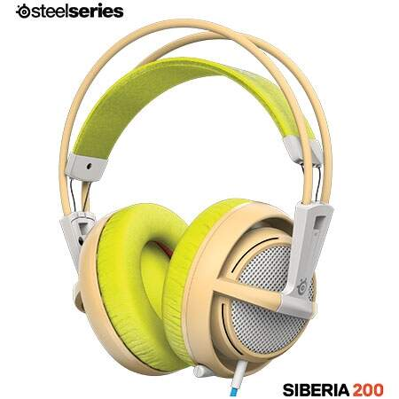 Headset Steelseries Siberia 200 - Gaia Green