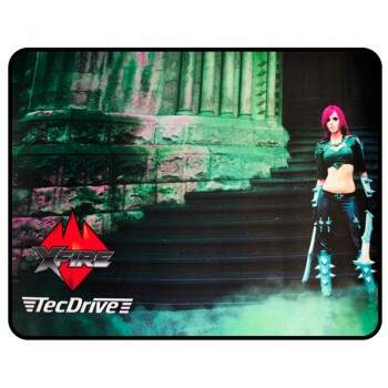 Mousepad TecDrive XFire Princesa do Castelo - Versão Speed