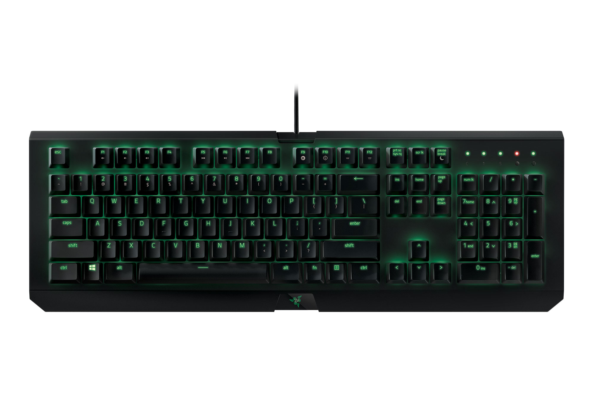 Teclado Razer Blackwidow X Ultimate - Switch Razer Green