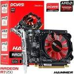 Placa de vídeo AMD Radeon PCYes R7 250 Hammer 2gb 128BITS - PH25012802D5