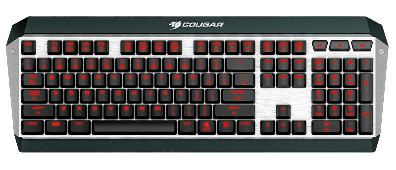 Teclado Cougar Attack X3 - Layout Internacional