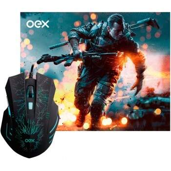 Combo OEX Stage Mouse + Mousepad - MC101