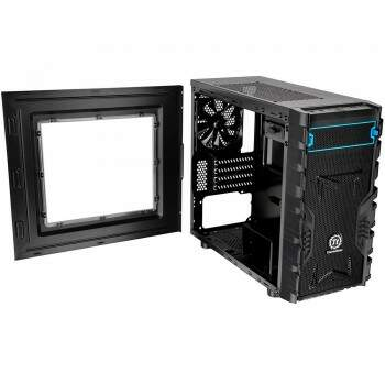 Gabinete Thermaltake Versa H13 Black Window Case - CA-1D3-00S1WN-00