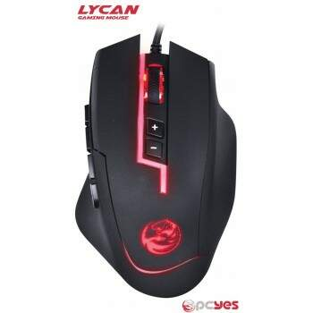 Mouse PCYes Lycan - 8200dpi/RGB - 24872