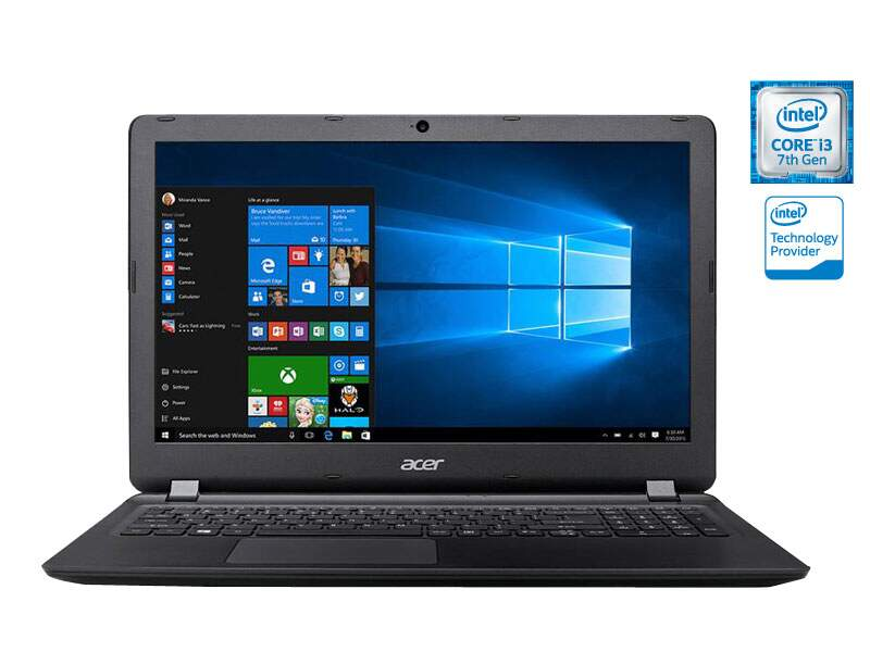 Notebook Acer Aspire ES1-572-37PZ Intel i3 7100U, 4GB RAM, 1TB, WEBCAM, WINDOWS 10