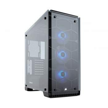 Gabinete Corsair Mid Tower Gaming Crystal Series 570X RGB MINI-ITX, MICROATX, ATX CC-9011098-WW
