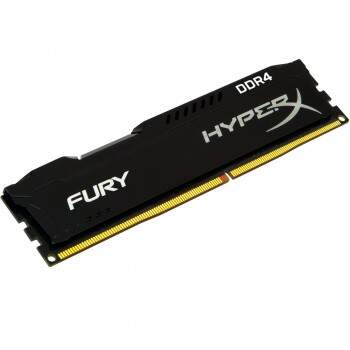Memória Kingston HyperX Fury 4GB 2400mhz DDR4 Black - HX424C15FB/4