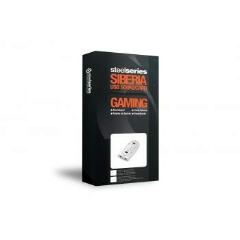 Placa de som USB Steelseries 7.1 Virtual Surround White