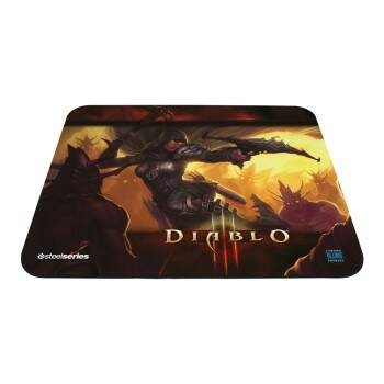 Mousepad Steelseries QcK Diablo III Demon Hunter Edition