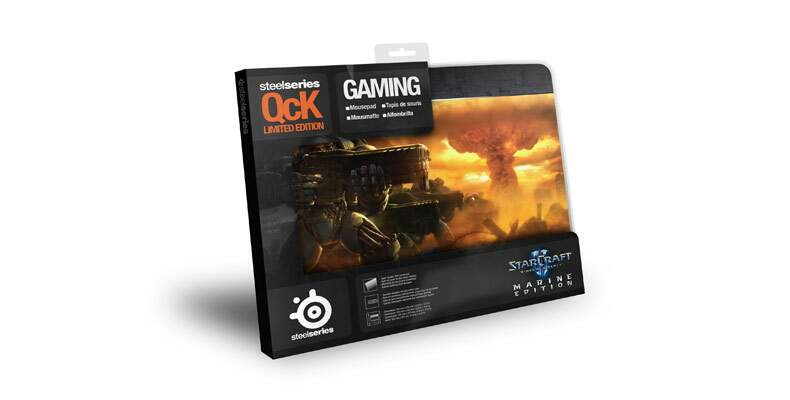 Mousepad Steelseries Qck Starcraft II Marine