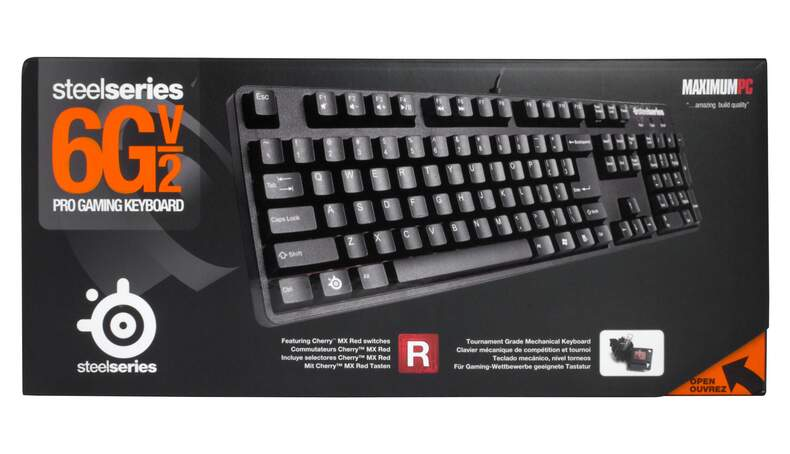 Teclado Steelseries 6G V2 Red Switches