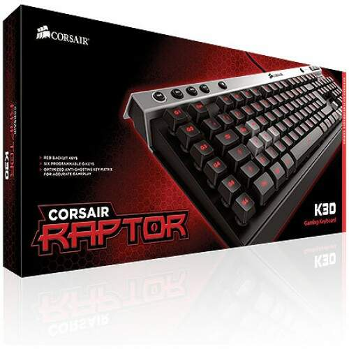 Teclado Corsair Gaming Raptor K30 Iluminated - CH-9000224-NA