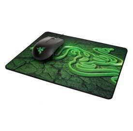 Combo Mouse Razer Abyssus 1800dpi Green + MousePad Goliathus Control