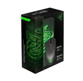 Combo Mouse Razer Abyssus 1800dpi Green + MousePad Goliathus Speed