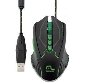 Mouse Multilaser Metal War 2500Dpi MO218