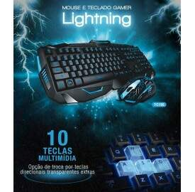 Combo Multilaser Lightning TC195