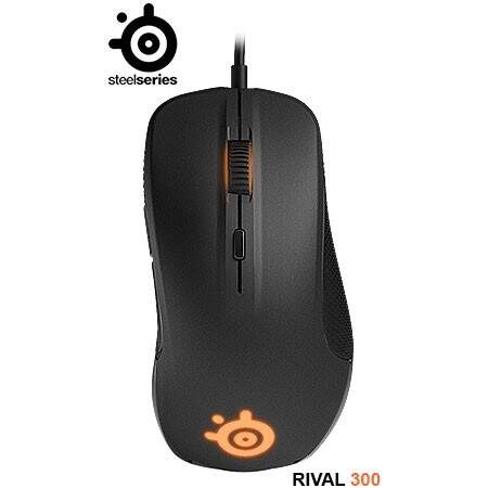 # ESPECIAL NATAL # Mouse SteelSeries Rival 300 Black Optical - 62341