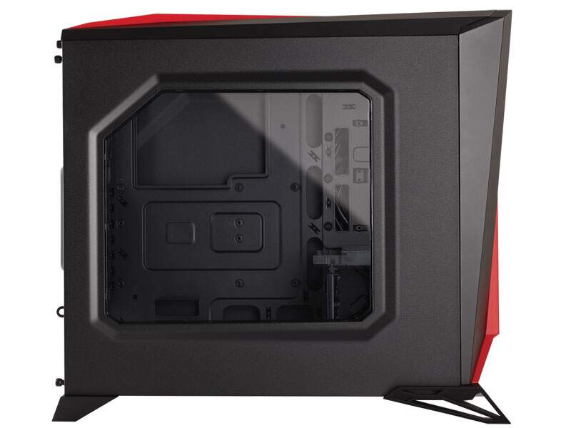 Gabinete Gamer Corsair Carbide Spec Alpha CC-9011085-WW Black/Red