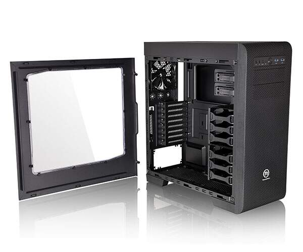 Gabinete Thermaltake Core V41 Black Window CA-1C7-00M1WN-00 Mid Tower