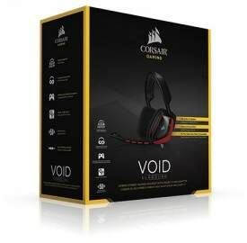 # ESPECIAL NATAL # Fone Corsair Gaming Void Surround Dolby 7.1 Hibrido Com Placa de Som USB Para PC PS4 XOne CA-9011144-AP