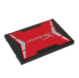 SSD Kingston HyperX Savage 120GB SATA III 6Gb/s Leituras: 560MB/s e Gravações: 360MB/s - SHSS37A/120G
