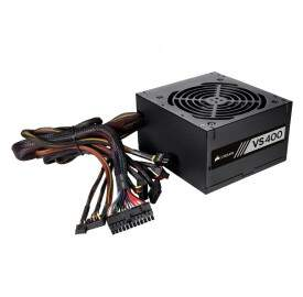 Fonte ATX Corsair VS400 400W Reais 80 Plus White - CP-9020117-LA
