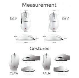 Mouse Zowie Gear EC2-A White Special Edition 9H.N0RBB.A3E - BOX