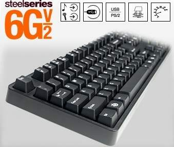 #PROMOÇÃO# Teclado SteelSeries 6G V2 Cherry MX Black Switches