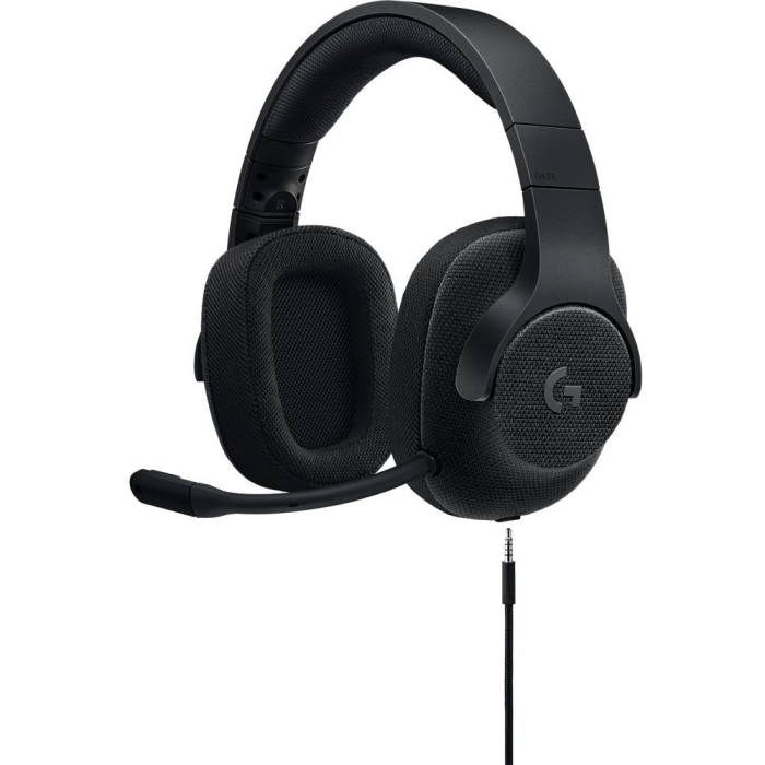 Fone Logitech G433 USB 7.1 Surround Gaming - Black Edition