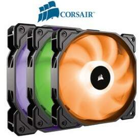 Kit Cooler FAN Corsair SP120 120MM LED MultiColor com Controlador CO-9050061-WW