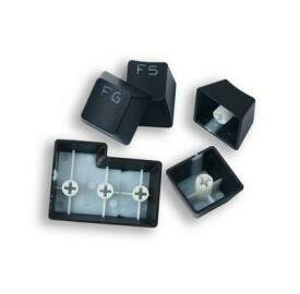 Kit de Teclas Gamer Redragon Double Shot Keycaps - A101 - 104 Teclas