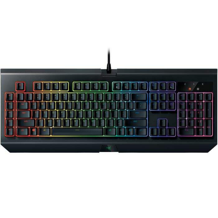 Teclado Razer BlackWidow Chroma V2 Switch Yellow c/ Apoio Pulso