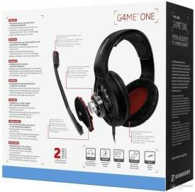 Fone Gamer Sennheiser Game One Black