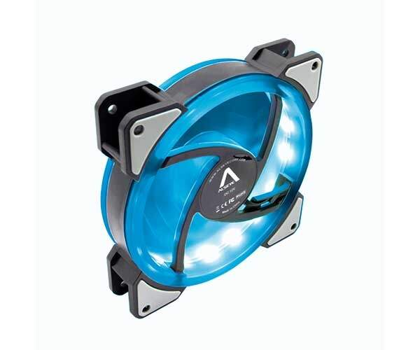 Cooler FAN Alseye 120mm Dual Ring Blue DR-120-SB