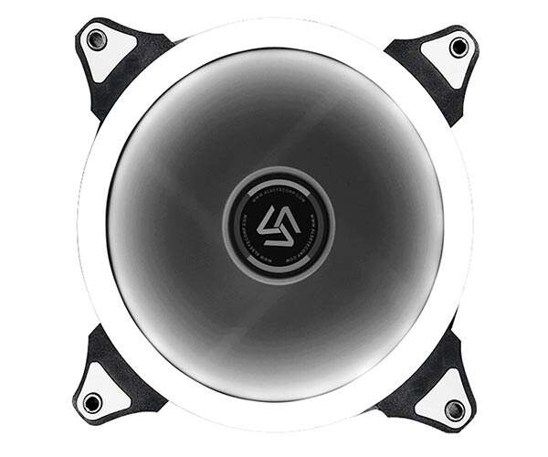 Cooler FAN Alseye 120mm Dual Ring Branco DR-120-SW