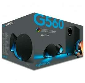 Caixa de Som Gamer Logitech G560 2.1 Surround 240W Lightsync RGB