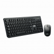 Kit Teclado e Mouse OEX Gaming Pop+ TM410 Preto Wireless