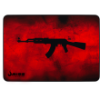 MousePad Rise Gaming AK47 Red Médio Bordas Costuradas - RG-MP-04-AKR