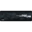MousePad Rise Gaming Sniper Grey Extended Bordas Costuradas -  RG-MP-06-SNPG