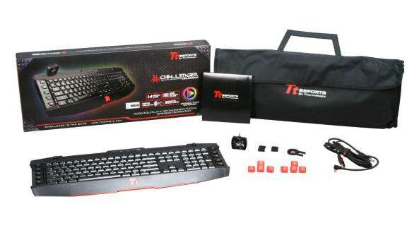 # PROMOÇÃO # Teclado Thermaltake TTeSports Challenger Ultimate RGB ABNT2