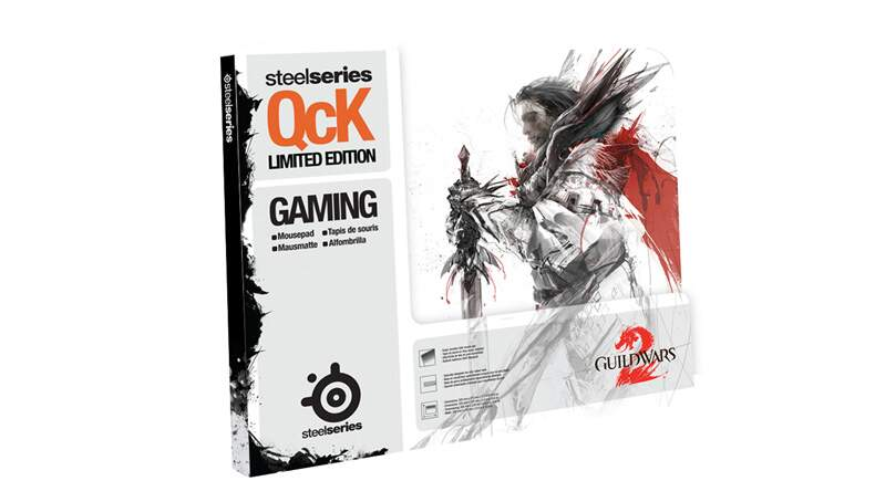 # ESPECIAL NATAL # MousePad SteelSeries QcK Guild Wars 2 Logan Edition