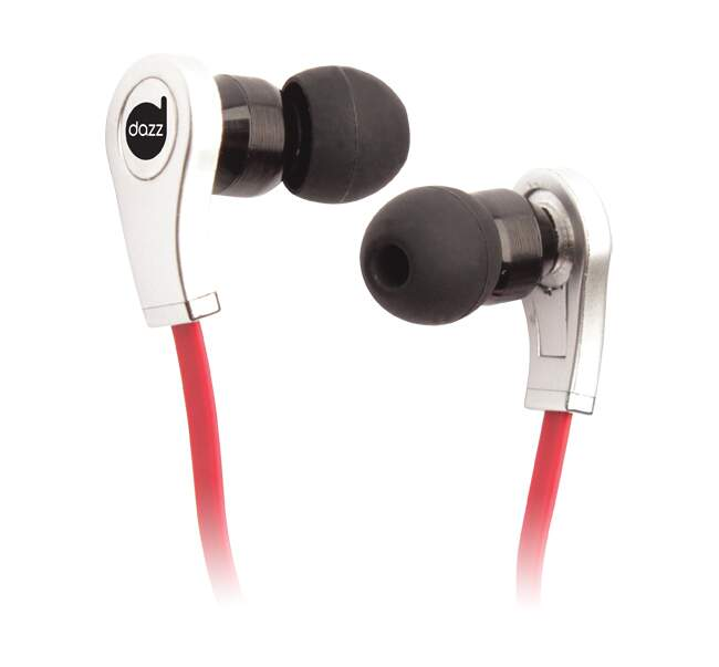 Fone Dazz Headset In-Ear Silver (c/ Microfone)